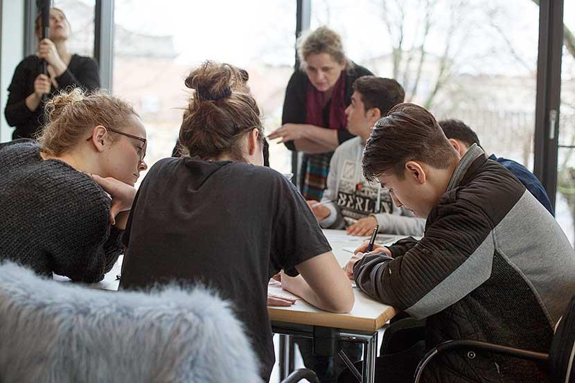 Schreibworkshop mit Susanne Koelbl | Foto © Rottkay