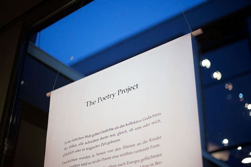 The Poetry Project | Banner | Foto © Rottkay