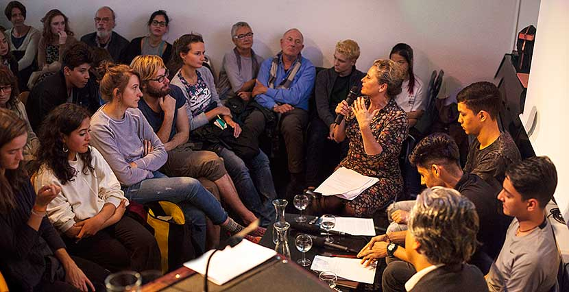 ThePoetryProject @ ilb 17 | Susanne Koelbl | Foto © Rottkay