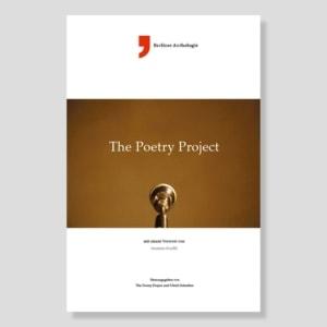 The Poetry Project | Berliner Anthologie | ilb 2016 | Gestaltung © 2b4.design